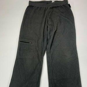 Columbia Women's Gray Fleece Pants Sweatpants